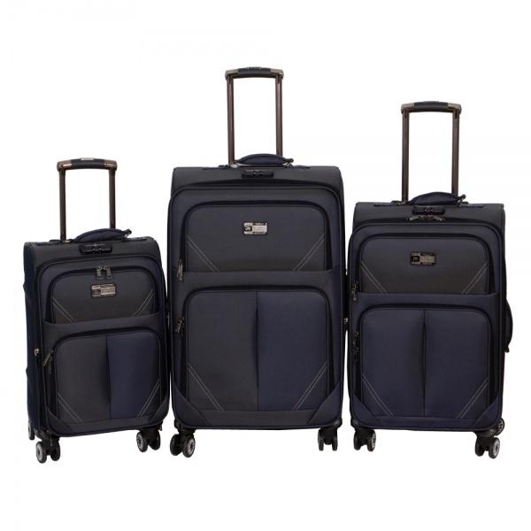 Комплект чемоданов 118-9023/3-NAV Francesco Molinary FMolinary Франческо Молинари FMolinari Molinari