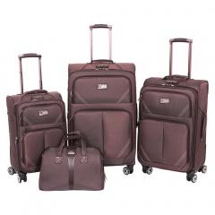 Комплект чемоданов 118-9023/4-BRW Francesco Molinary FMolinary Франческо Молинари FMolinari Molinari
