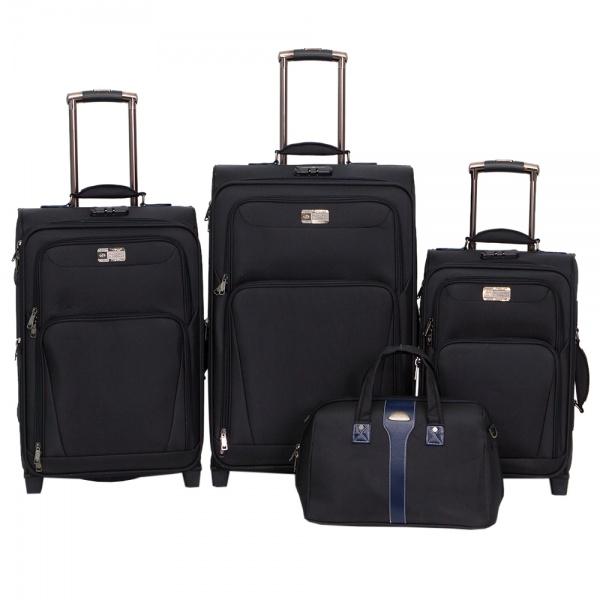 Комплект чемоданов 118-9025/4-NAV Francesco Molinary FMolinary Франческо Молинари FMolinari Molinari
