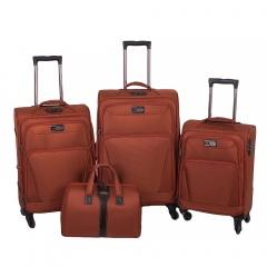 Комплект чемоданов 118-9025A/4-ORN Francesco Molinary FMolinary Франческо Молинари FMolinari Molinari