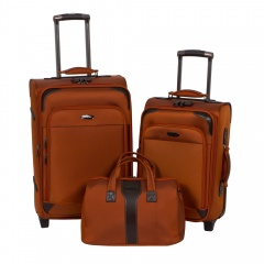 Комплект чемоданов 118-9027-3-ORN Francesco Molinary FMolinary Франческо Молинари FMolinari Molinari