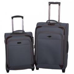 Комплект чемоданов 118-9027/2-GRY Francesco Molinary FMolinary Франческо Молинари FMolinari Molinari