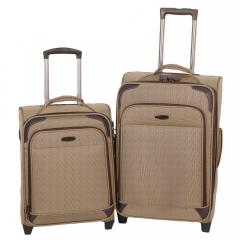 Комплект чемоданов 118-9027/2-YLW Francesco Molinary FMolinary Франческо Молинари FMolinari Molinari