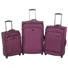 Комплект чемоданов 118-9027/3-PRP Francesco Molinary FMolinary Франческо Молинари FMolinari Molinari