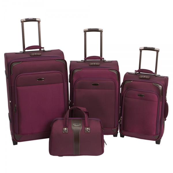Комплект чемоданов 118-9027/4-PRP Francesco Molinary FMolinary Франческо Молинари FMolinari Molinari