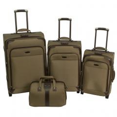 Комплект чемоданов 118-9027/4-YLW Francesco Molinary FMolinary Франческо Молинари FMolinari Molinari