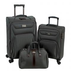 Комплект чемоданов 118-9033-3-GRY Francesco Molinary FMolinary Франческо Молинари FMolinari Molinari