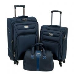 Комплект чемоданов 118-9033-3-NAV Francesco Molinary FMolinary Франческо Молинари FMolinari Molinari