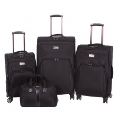 Комплект чемоданов 118-9033/4-BLK Francesco Molinary FMolinary Франческо Молинари FMolinari Molinari