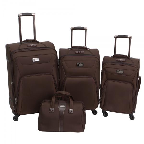 Комплект чемоданов 118-9033/4-BRW Francesco Molinary FMolinary Франческо Молинари FMolinari Molinari