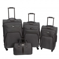 Комплект чемоданов 118-9033/4-GRY Francesco Molinary FMolinary Франческо Молинари FMolinari Molinari