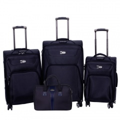 Комплект чемоданов 118-9033/4-NAV Francesco Molinary FMolinary Франческо Молинари FMolinari Molinari