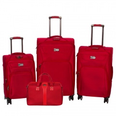 Комплект чемоданов 118-9033/4-RED Francesco Molinary FMolinary Франческо Молинари FMolinari Molinari