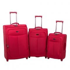 Комплект чемоданов 118-A-151-3-RED Francesco Molinary FMolinary Франческо Молинари FMolinari Molinari