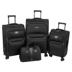 Комплект чемоданов 118-X007/4-BLK Francesco Molinary FMolinary Франческо Молинари FMolinari Molinari
