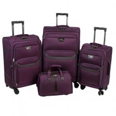 Комплект чемоданов 118-X007/4-PRP Francesco Molinary FMolinary Франческо Молинари FMolinari Molinari