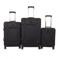 Комплект чемоданов 199-0193/3-BLK Francesco Molinary FMolinary Франческо Молинари FMolinari Molinari