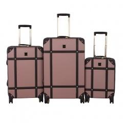 Комплект чемоданов 199-0193/3-PNK Francesco Molinary FMolinary Франческо Молинари FMolinari Molinari