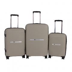 Комплект чемоданов 199-18821N/3-GRY Francesco Molinary FMolinary Франческо Молинари FMolinari Molinari