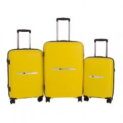 Комплект чемоданов 199-18821N/3-YLW Francesco Molinary FMolinary Франческо Молинари FMolinari Molinari