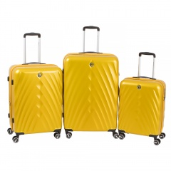 Комплект чемоданов 199-19124/3-MYL Francesco Molinary FMolinary Франческо Молинари FMolinari Molinari