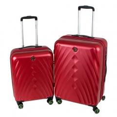 Комплект чемоданов 199-19124/2-RED Francesco Molinary FMolinary Франческо Молинари FMolinari Molinari