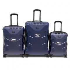 Комплект чемоданов 200-BL065/3-NAV Francesco Molinary FMolinary Франческо Молинари FMolinari Molinari