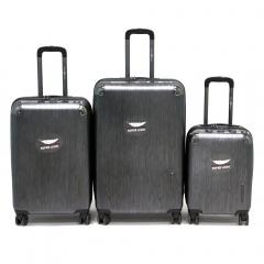 Комплект чемоданов 200-BL083/3-GRY Francesco Molinary FMolinary Франческо Молинари FMolinari Molinari