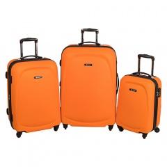 Комплект чемоданов 213-A-8045/3-ORN Francesco Molinary FMolinary Франческо Молинари FMolinari Molinari