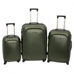 Комплект чемоданов 213-A-8045/3-DKH Francesco Molinary FMolinary Франческо Молинари FMolinari Molinari