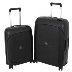 Комплект чемоданов 213-P7007/2BLK Francesco Molinary FMolinary Франческо Молинари FMolinari Molinari