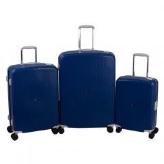 Комплект чемоданов 213-P7023/3-NAV Francesco Molinary FMolinary Франческо Молинари FMolinari Molinari
