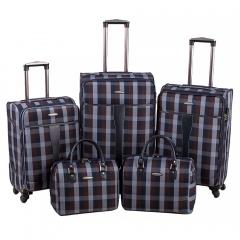 Комплект чемоданов 219-1094FM-5-BBW Francesco Molinary FMolinary Франческо Молинари FMolinari Molinari
