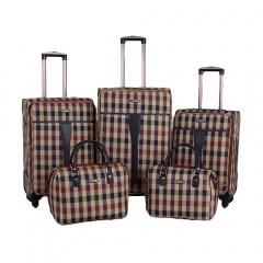 Комплект чемоданов 219-1094FM-5-BEG Francesco Molinary FMolinary Франческо Молинари FMolinari Molinari