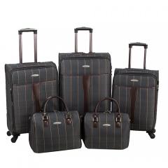Комплект чемоданов 219-1094FM-5-GRY Francesco Molinary FMolinary Франческо Молинари FMolinari Molinari