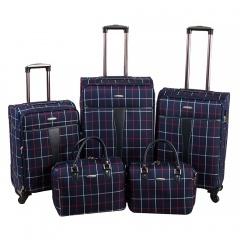 Комплект чемоданов 219-1094FM-5-NAV Francesco Molinary FMolinary Франческо Молинари FMolinari Molinari