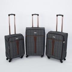 Комплект чемоданов 219-MD1094/3-GRY Francesco Molinary FMolinary Франческо Молинари FMolinari Molinari