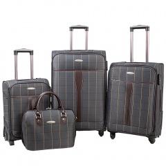 Комплект чемоданов 219-MD1094-4-GRY Francesco Molinary FMolinary Франческо Молинари FMolinari Molinari