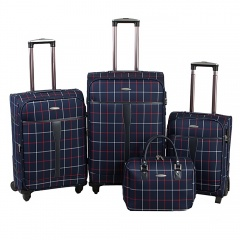 Комплект чемоданов 219-MD1094-4-NAV Francesco Molinary FMolinary Франческо Молинари FMolinari Molinari