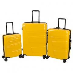 Комплект чемоданов 219-S1191/3-YLW Francesco Molinary FMolinary Франческо Молинари FMolinari Molinari
