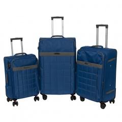 Комплект чемоданов 262-890/3-DNV Francesco Molinary FMolinary Франческо Молинари FMolinari Molinari