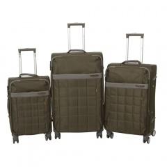 Комплект чемоданов 262-890/3-KHK Francesco Molinary FMolinary Франческо Молинари FMolinari Molinari