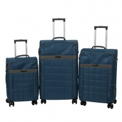 Комплект чемоданов 262-890/3-NAV Francesco Molinary FMolinary Франческо Молинари FMolinari Molinari