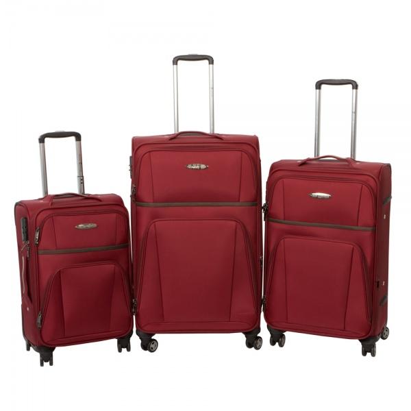 Комплект чемоданов 262-898/3-BRD Francesco Molinary FMolinary Франческо Молинари FMolinari Molinari