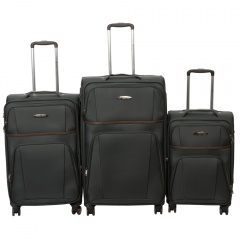 Комплект чемоданов 262-898/3-DGR Francesco Molinary FMolinary Франческо Молинари FMolinari Molinari