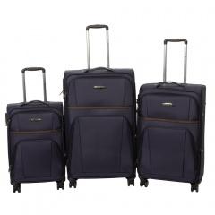 Комплект чемоданов 262-898/3-DNV Francesco Molinary FMolinary Франческо Молинари FMolinari Molinari