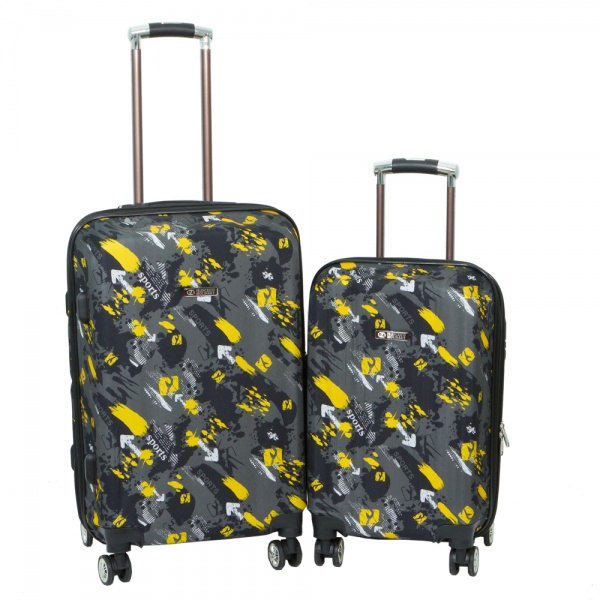 Комплект чемоданов 268-001-2DGY Francesco Molinary FMolinary Франческо Молинари FMolinari Molinari