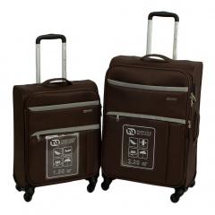 Комплект чемоданов 270-122041/2-BRW Francesco Molinary FMolinary Франческо Молинари FMolinari Molinari