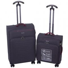 Комплект чемоданов 270-12243/2-GRY Francesco Molinary FMolinary Франческо Молинари FMolinari Molinari