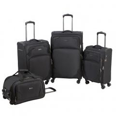 Комплект чемоданов 270-12530-TL/4-BLK Francesco Molinary FMolinary Франческо Молинари FMolinari Molinari